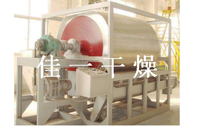 HG系列滚筒刮板干燥机原理及性能特点